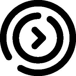 丸囲み矢印のアイコン2