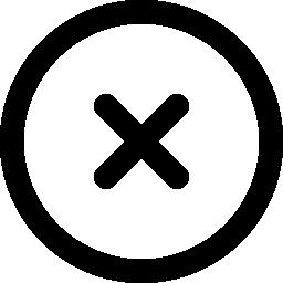 バツの無料アイコン6