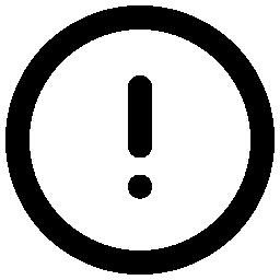 ビックリマークの無料アイコン3