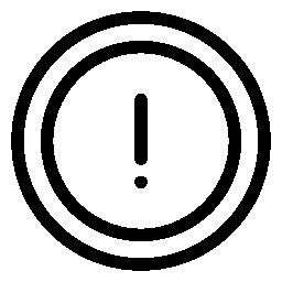ビックリマークの無料アイコン13 無料アイコン素材 Icon Box 商用フリーアイコンがダウンロードできます